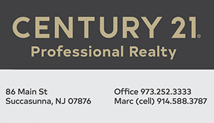 Century 21 Professional Realty, 86 Main St, Succasunna, NJ 07876. Call Marc, our specialist handling Seasons Glen!